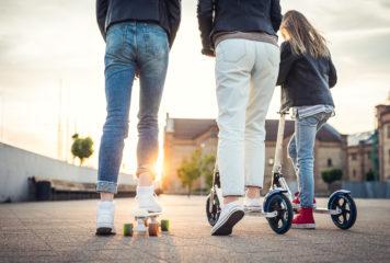 Wer wird Verleih E-Scooter anbieten?