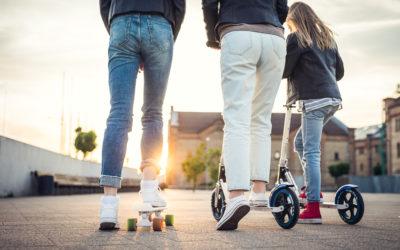 Bestellbare E-Scooter während des Corona Shutdown