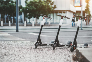 Übersicht E-Scooter Verleih