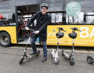 Bird vermietet E-Scooter aktuell in Bamberg