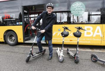 Bird vermietet E-Scooter aktuell in Bamberg