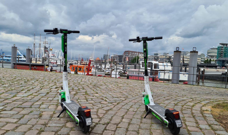 Lime Scooter Hamburg