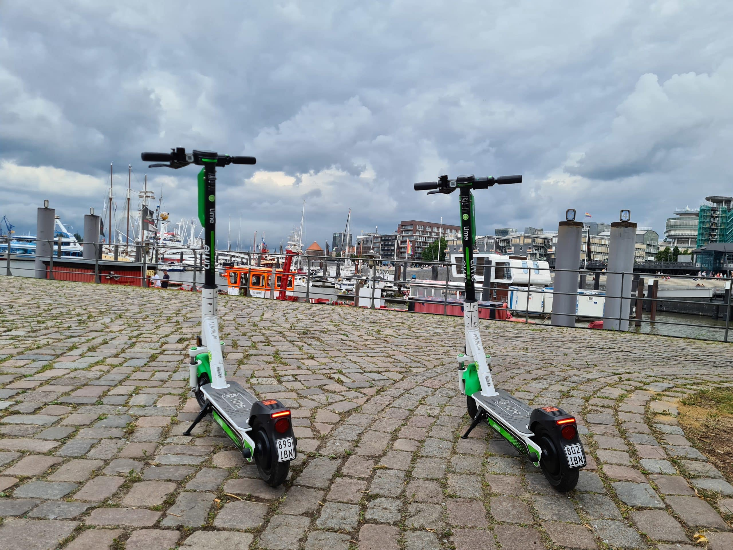Lime Scooter Hamburg