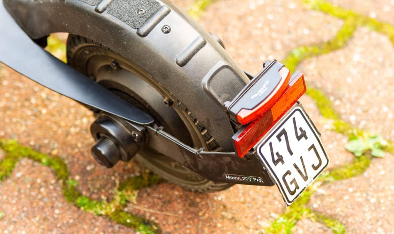 Escooter Versicherungskennzeichen